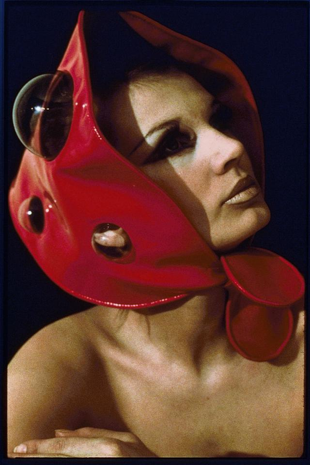 Hat. Pierre Cardin Haute Couture Creation -