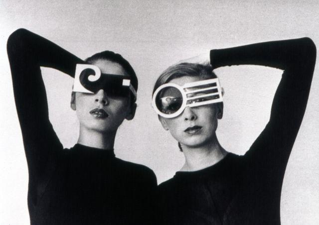 Sunglasses. Pierre Cardin Haute Couture Creation -