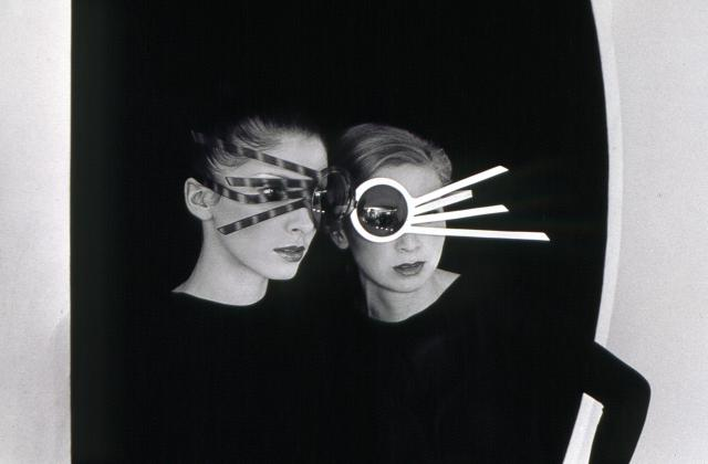 Glasses. Pierre Cardin Haute Couture Creation -