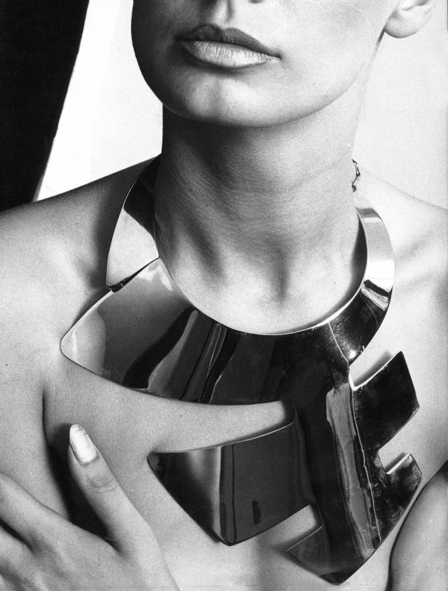 Necklace. Pierre Cardin Haute Couture Creation -