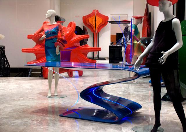 """Boutique Design """"Présent Passé Futur"""". 82, Rue du Faubourg Saint-Honoré - 75008 Paris - France -"""