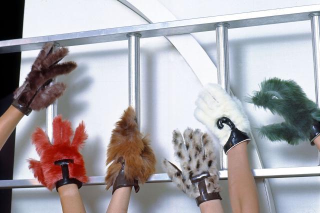 1969. Création Haute Couture Pierre Cardin -