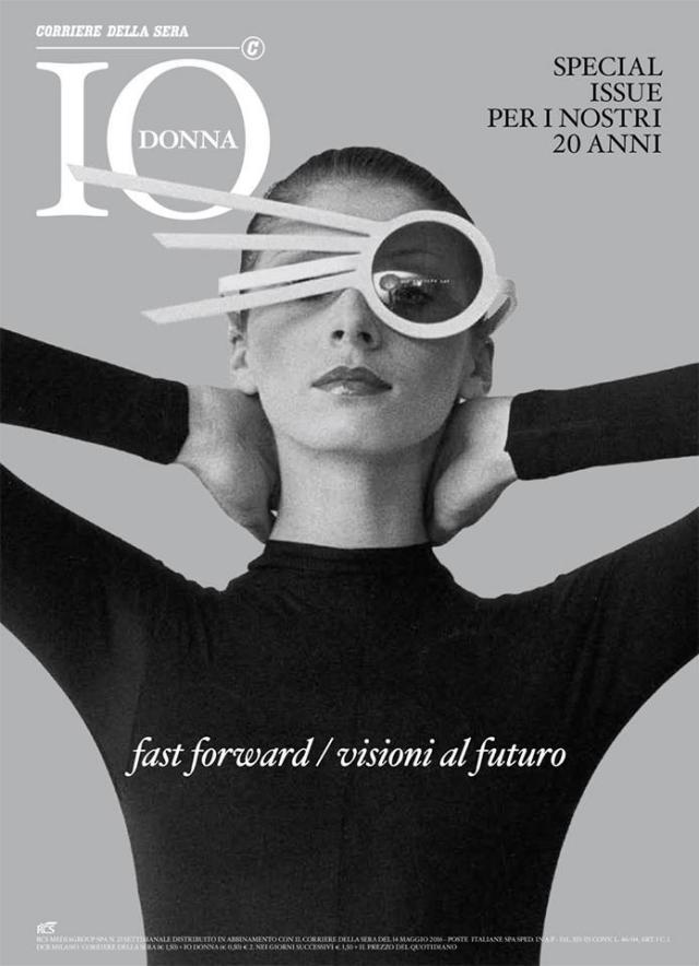 Couverture du magazine Io Donna - 2016