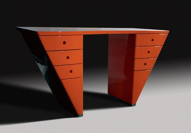 Desk. Design -
