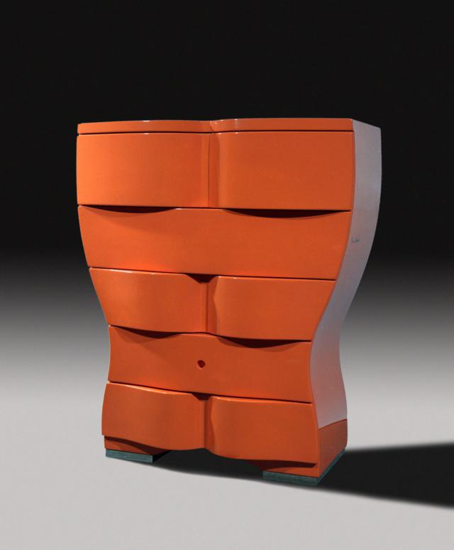 Chest of drawers. Design -