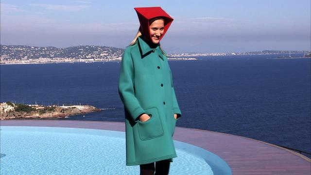 2008. Pierre Cardin Haute Couture Creation Fashion show at the Palais Bulles 2008/2009 - 2008
