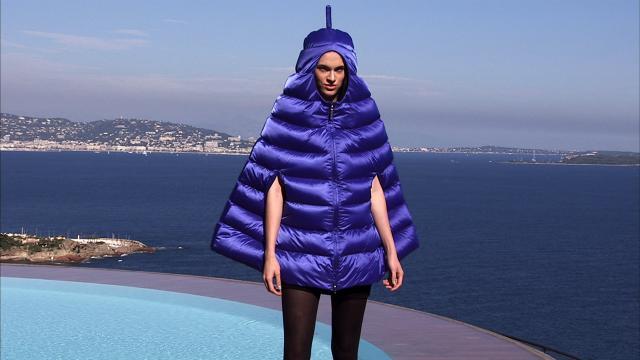 2008. Pierre Cardin Haute Couture Creation Fashion show at the Palais Bulles 2008/2009 -