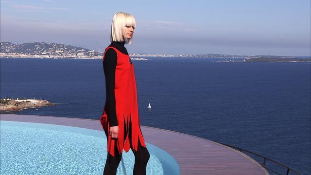 Défilé au Palais Bulles Collection 2008/2009. Création Haute Couture - 2008