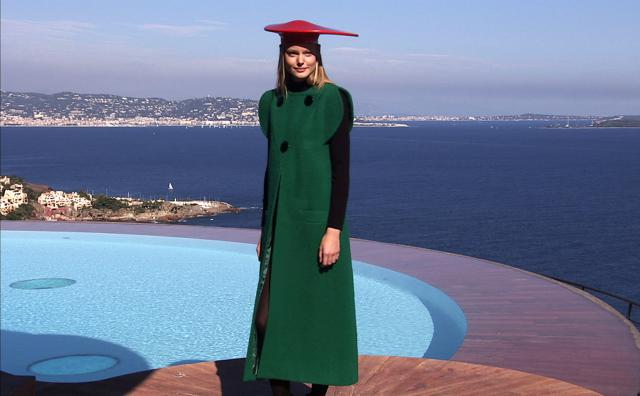 2008. Pierre Cardin Haute Couture Creation Fashion show at Palais Bulles 2008/2009 - 2008