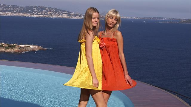 "2008. Pierre Cardin Haute Couture Creation ""Palais Bulles"" fashion show -"