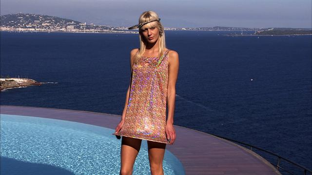 Fashion show at Palais Bulles 2008/2009. Haute couture Creation - 2008