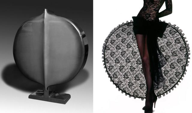 Similarity. Pierre Cardin Haute Couture Creation -