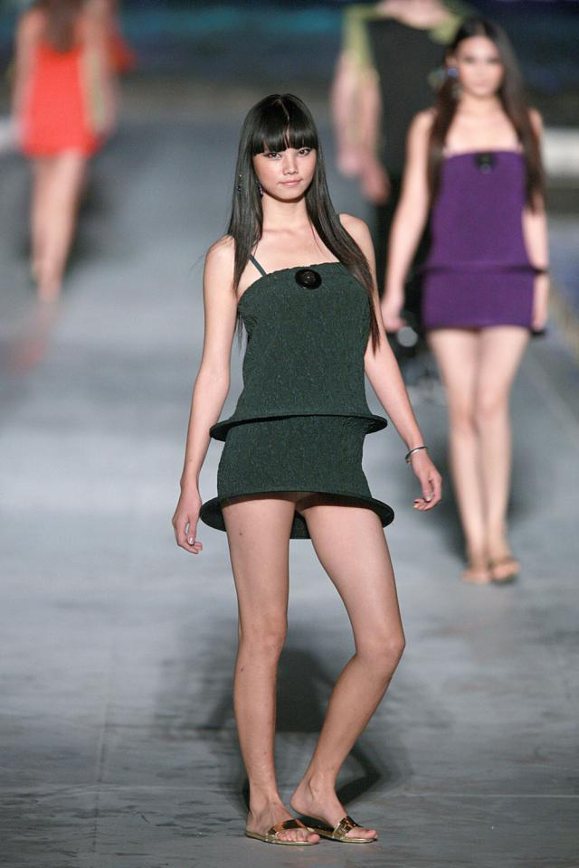 "2010. Pierre Cardin Haute Couture Creation Fashion show of ""Venice"" collection -"