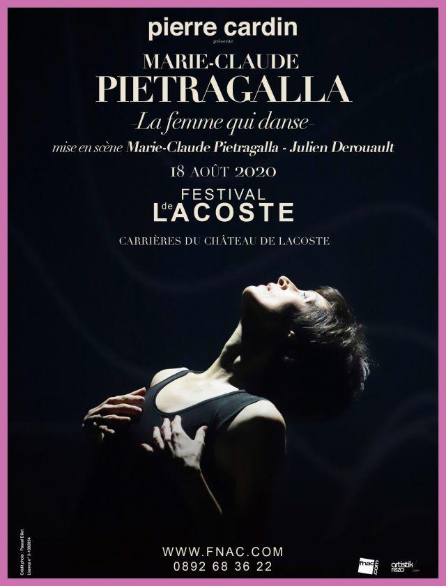 Marie-Claude Pietragalla. Mardi 18 août 2020 - La femme qui danse de Théâtre du Corps Pietragalla-Derouault  Marie-Claude Pietragalla a imaginé la... -
