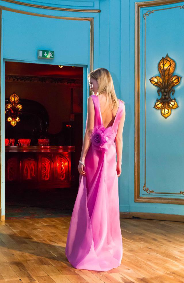 2013. Création Haute Couture Pierre Cardin Robe de soirée -