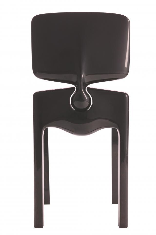 Chaise Espace. Les Sculptures Utilitaires by Pierre Cardin -
