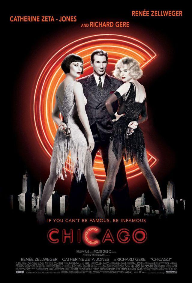 Chicago. MARDI 3 AOÛT À 21H15  A Chicago, dans les années vingt, Roxie Hart, une jeune femme qui rêve de monter sur la scène de l'Onyx Club, est accusée... -