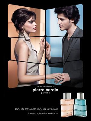 Pour Femme, Pour Homme. Parfums Pierre Cardin -