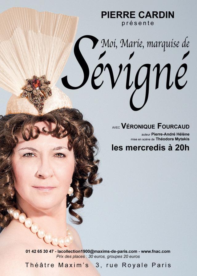 Moi, Marie marquise de Sévigné. A l'hôtel Carnavalet, madame de Sévigné écrit… A sa fille, bien sûr, et pour cela, elle se remémore sa vie,... - 2016