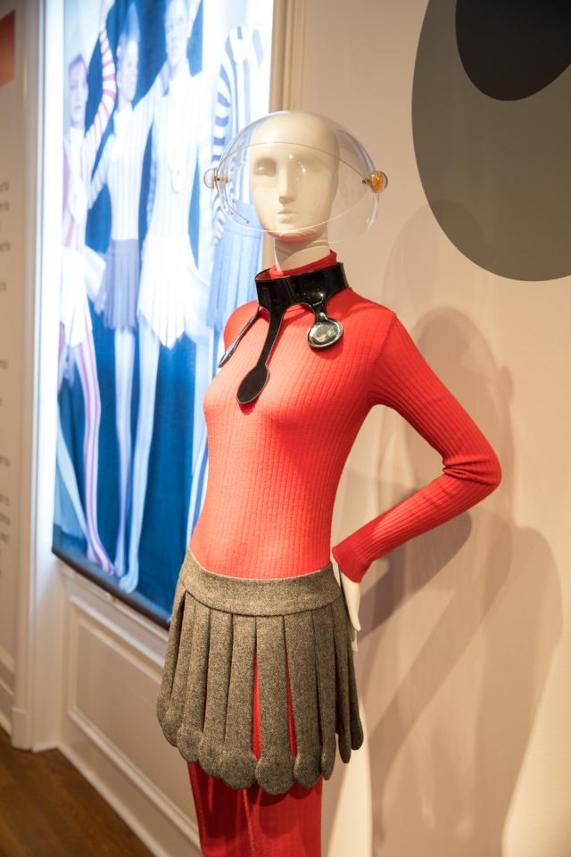 "Pierre Cardin: 2017 - Pierre Cardin's retrospective exhibition on the occasion of his 70 years of creationFrom May 27, 2017 to January 1, 2018 at ""Rosecliff"" - Newport (Rhodes..."