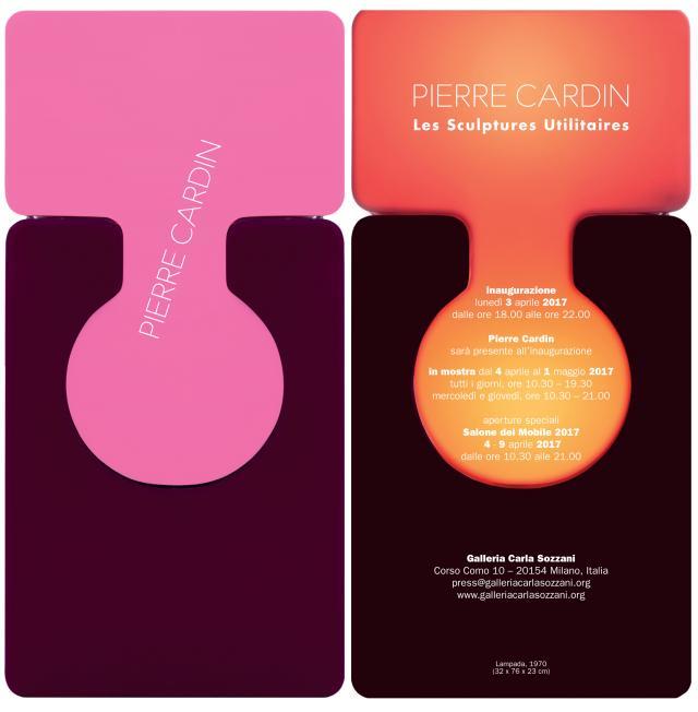 Pierre Cardin: 2017 - On the occasion of Design Week 2017, the Galleria Carla Sozzani invited Mr. Pierre Cardin for a retrospective of his design creations.