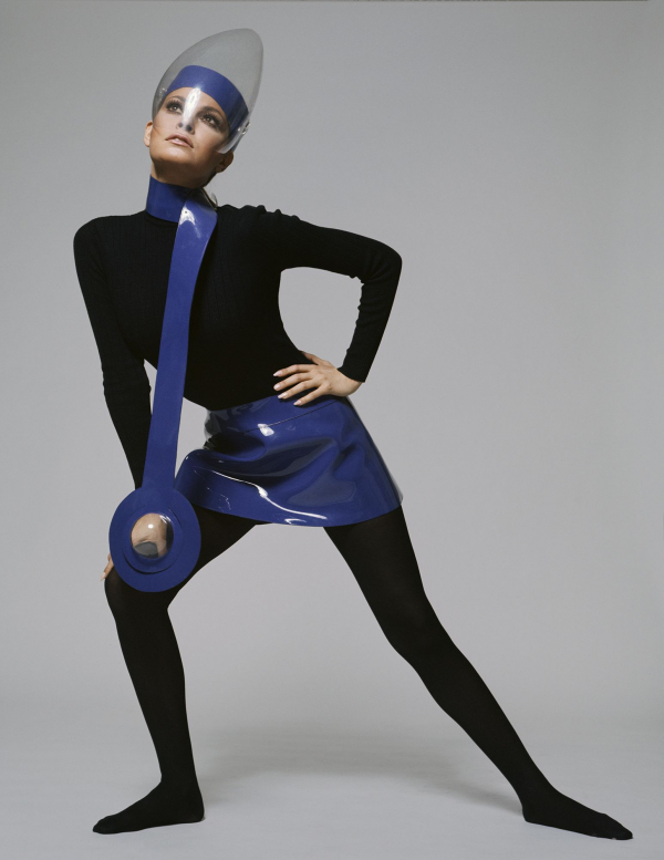 "Pierre Cardin: 2019 - Retrospective exhibition ""Pierre Cardin: Future Fashion"", from July 20, 2019 to January 5, 2020 in the Brooklyn Museum (New York, USA).©Terry O'Neill"