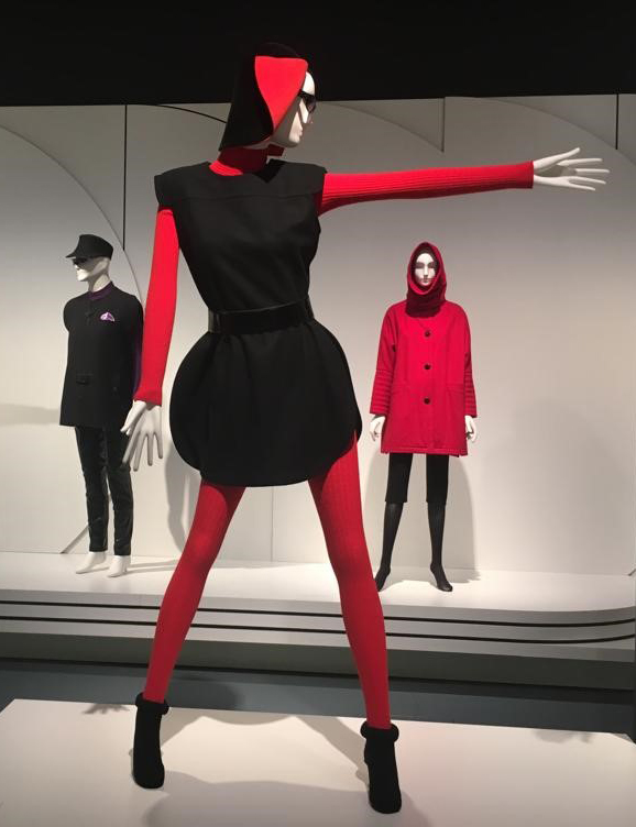 "Pierre Cardin: 2019 - ""Pierre Cardin. Fashion Futurist"" Exhibition, from September 19, 2019 to January 5, 2020 in the Kunstpalast Museum in Düsseldorf, Germany"