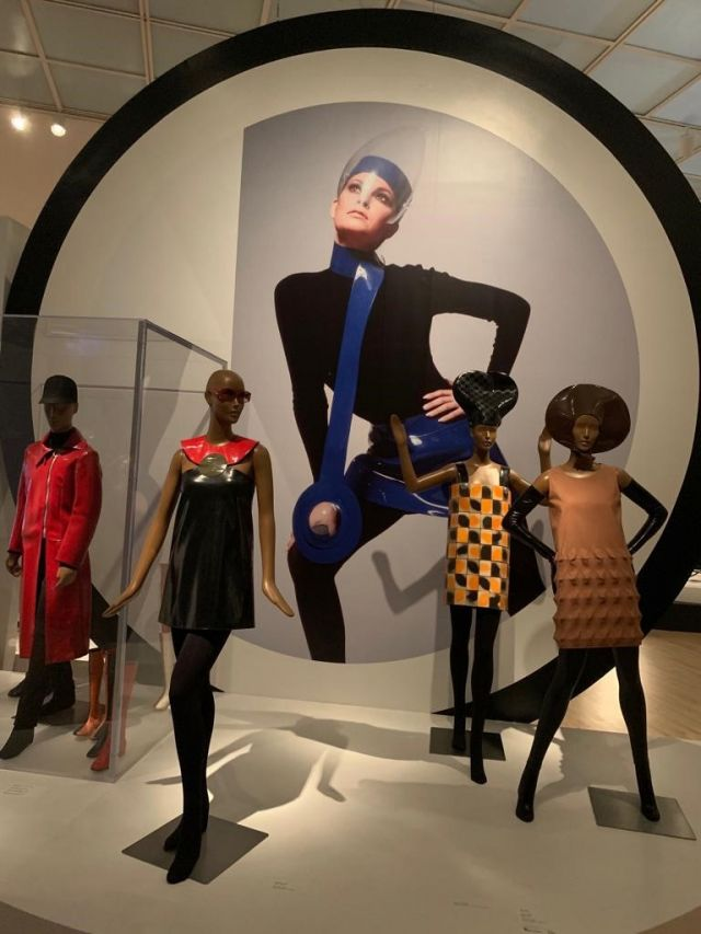 "Pierre Cardin: 2019 - Exhibition ""Pierre Cardin: Future Fashion"", from July 20, 2019 to January 5, 2020 in the Brooklyn Museum (New York, USA)."
